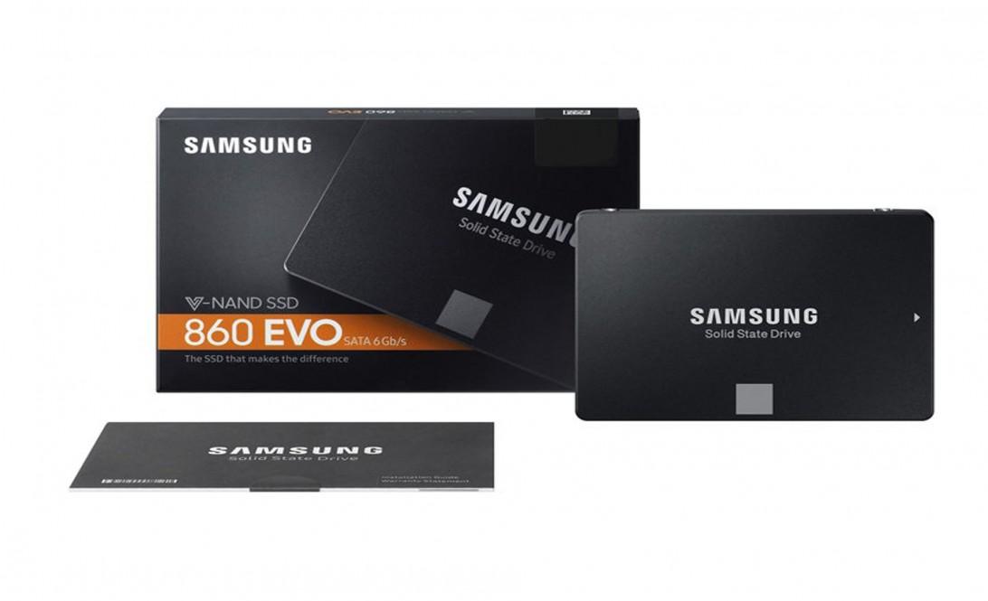 SSD samsung 250Gb 860evo chính hãng