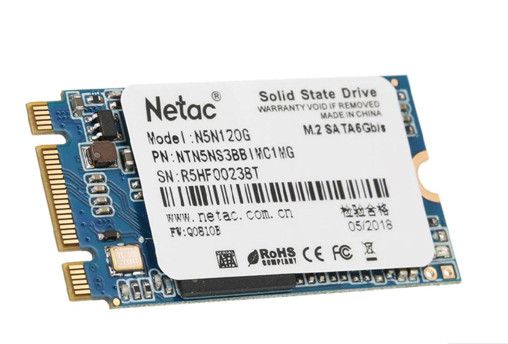 SSD Netac M2 2242mm 120Gb
