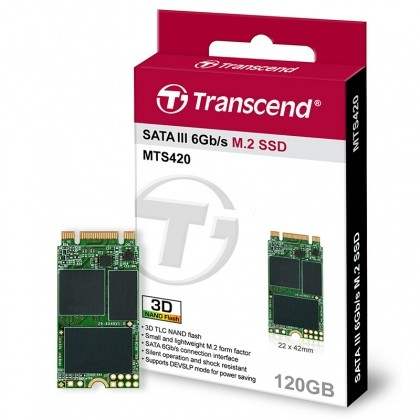 SSD Transcend M2 2242mm 120Gb